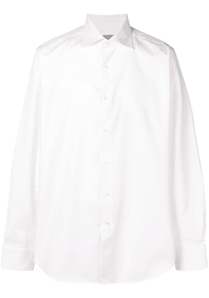 Canali classic formal shirt - White