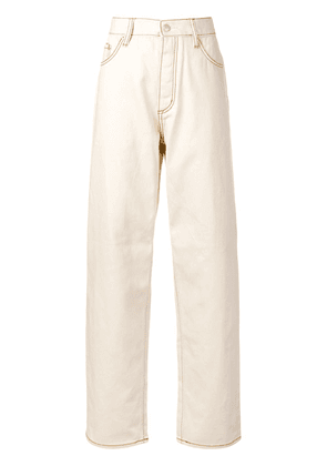 Eytys Benz Twill trousers - Neutrals
