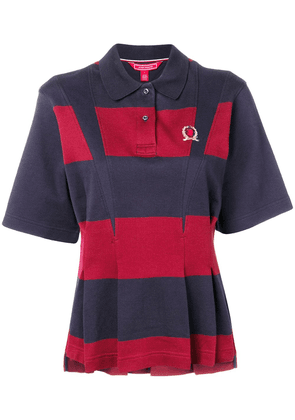 Hilfiger Collection pleated polo shirt - Blue
