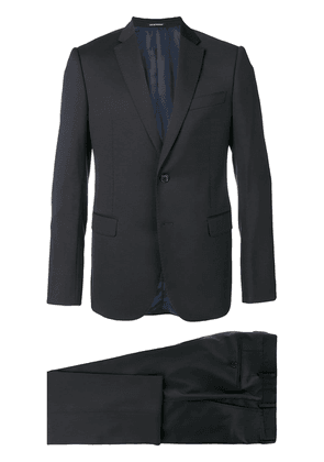Emporio Armani slim two-piece suit - Blue