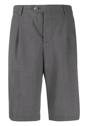 Brunello Cucinelli knee-high bermuda shorts - Grey
