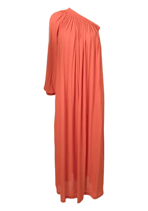 Erika Cavallini one-shoulder maxi dress - Orange