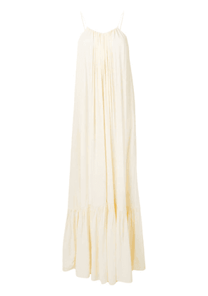 Erika Cavallini spaghetti strap dress - Neutrals