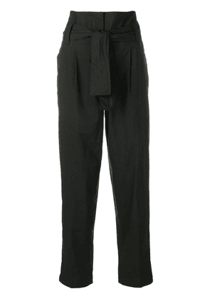 Dorothee Schumacher high waisted tapered trousers - Black