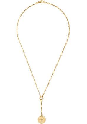 Foundrae - Dream 18-karat Gold Diamond Necklace - one size
