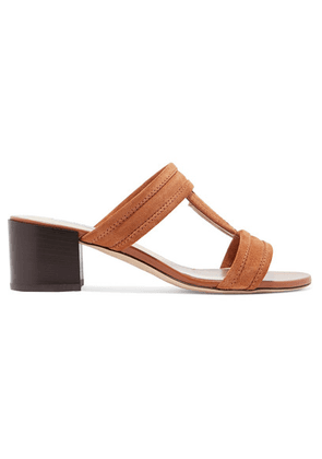 Tod's - Suede Sandals - Brown