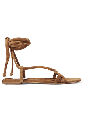 Gabriela Hearst - Reeves Suede And Croc-effect Leather Sandals - IT37