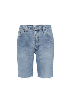 The Long denim shorts