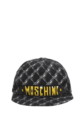 Logo Print Cotton Quilted Cap