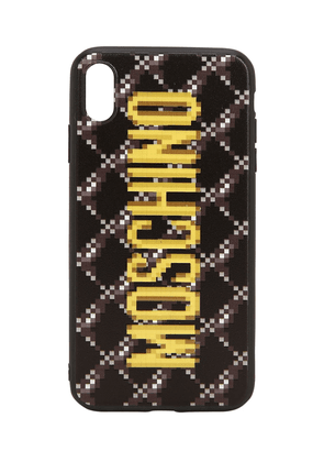 Logo Print Quilted Iphone Xs Max Cover