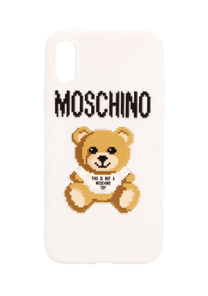 Teddy & Logo Print Iphone X Cover