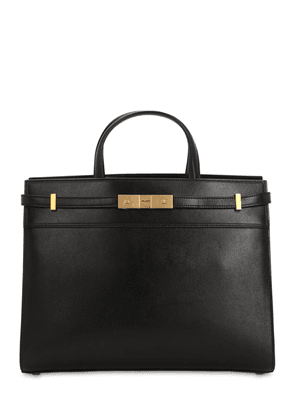 Small Manhattan Leather Tote Bag