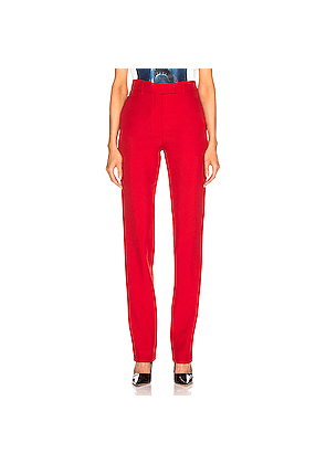 CALVIN KLEIN 205W39NYC Tailored Pant in Red