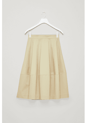 VOLUMINOUS COTTON SKIRT