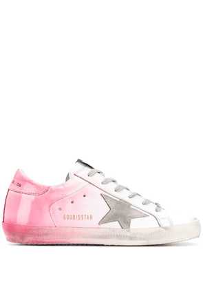 Golden Goose low-top star sneakers - White