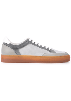 Brunello Cucinelli flat lace-up sneakers - Grey