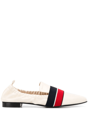 Bally Trainspotting Stripe loafers - Neutrals