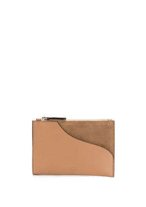 Atp Atelier Tino coin wallet - Brown