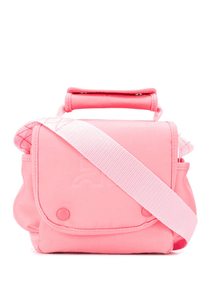 Courrèges cross body travel bag - Pink