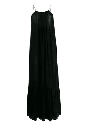 Erika Cavallini simple maxi dress - Black
