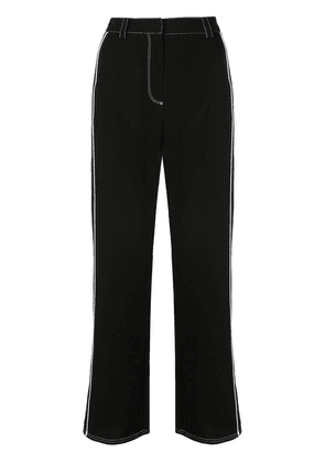 Cinq A Sept embroidered trousers - Black