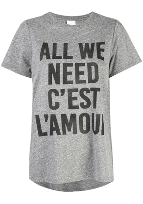 Cinq A Sept All we need is Love T-shirt - Grey