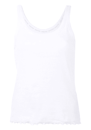 Anine Bing Karlie tank top - White