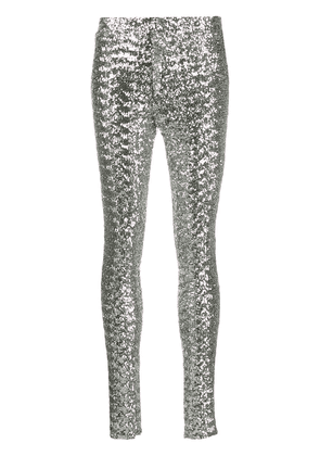 Isabel Marant Odiz sequinned trousers - Metallic