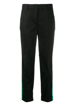 P.A.R.O.S.H. stripe trim trousers - Black