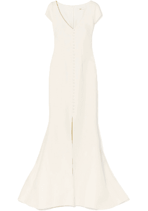 Safiyaa - Crepe Gown - Ivory