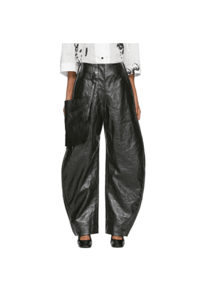 Lemaire Green Coated Chino Pants