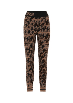 Double F knitted leggings
