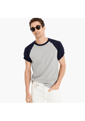 Wallace & Barnes short-sleeve baseball henley