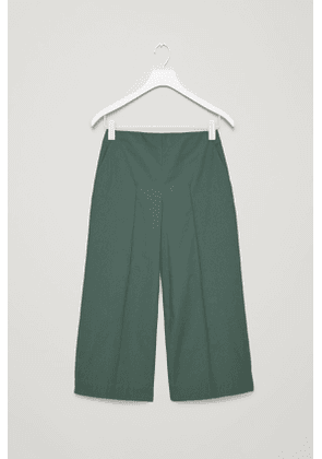 CULOTTES WITH PINTUCK DETAIL