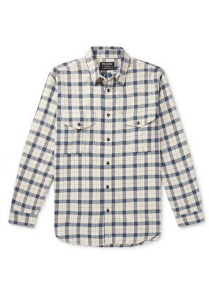 Filson - Alaskan Guide Checked Cotton-flannel Shirt - Blue