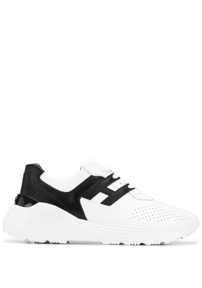 Hogan chunky low top trainers - White