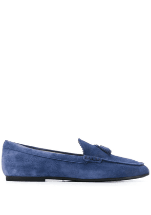 Tod's Gommino driving loafers - Blue