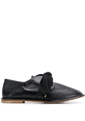 Agl bow-detail loafers - Black