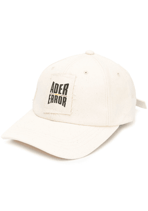 8101ab67ab7 Ader Error embroidered logo hat - White
