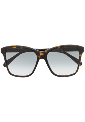Givenchy Eyewear oversized sunglasses - Brown