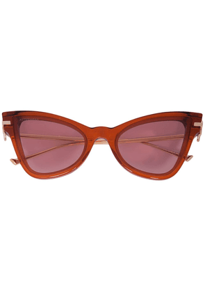 Altuzarra 'Winged' Sunglasses - Brown