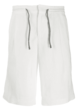 Brunello Cucinelli drawstring shorts - White