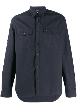 CP Company classic shirt with pockets - Blue