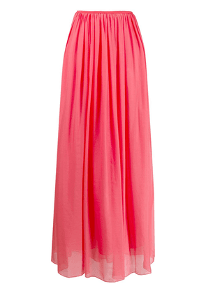 Forte Forte pleated chiffon skirt - Pink
