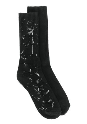 Oakley By Samuel Ross ribbed socks - Black