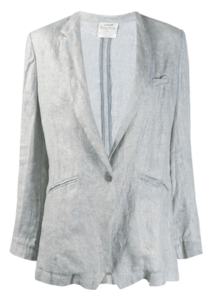 Forte Forte single-breasted blazer - Blue