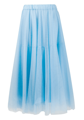 P.A.R.O.S.H. layered tulle skirt - Blue
