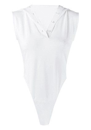 Y/Project body polo shirt - White