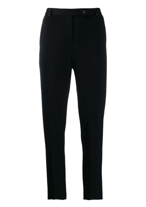 Styland slim-fit tapered trousers - Black