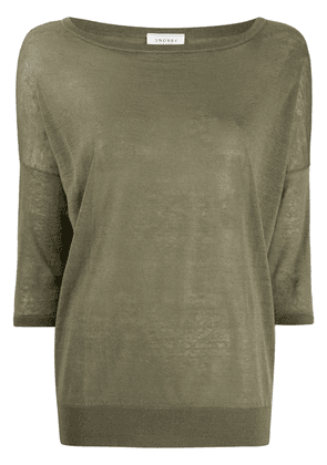 Snobby Sheep fine knit sweater - Green
